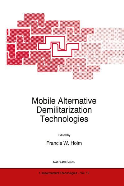 Mobile Alternative Demilitarization Technologies - Coverbild