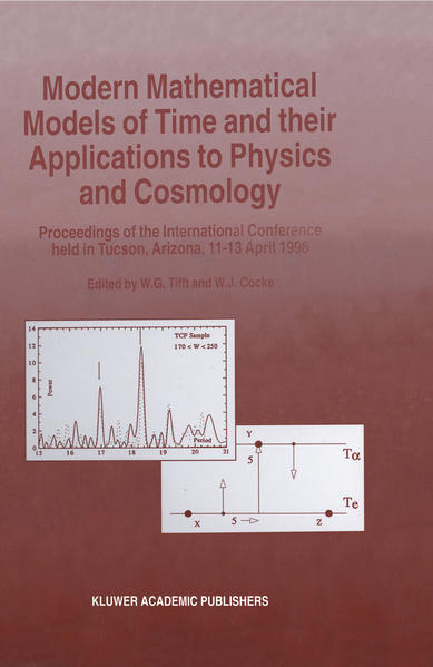 Modern Mathematical Models of Time and their Applications to Physics and Cosmology - Coverbild