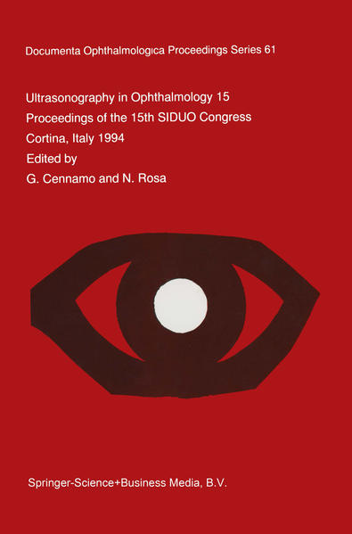 Ultrasonography in Ophthalmology XV - Coverbild