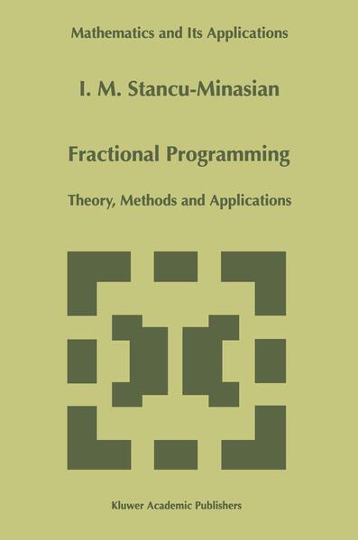 Fractional Programming - Coverbild