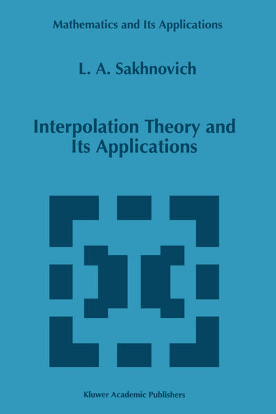 Interpolation Theory and Its Applications - Coverbild