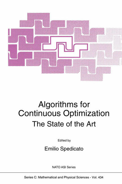 Algorithms for Continuous Optimization - Coverbild