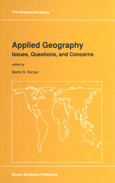 Applied Geography: Issues, Questions, and Concerns - Coverbild