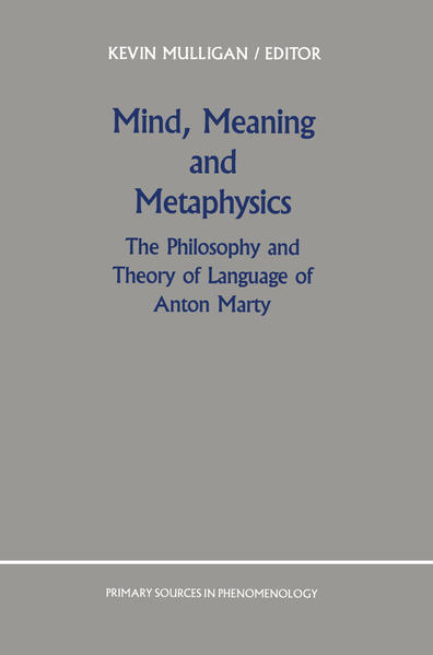 Mind, Meaning and Metaphysics - Coverbild