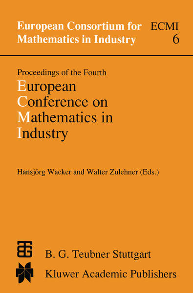 Proceedings of the Fourth European Conference on Mathematics in Industry - Coverbild