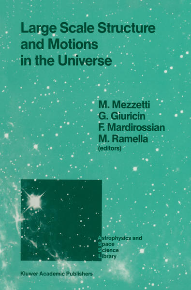 Large Scale Structure and Motions in the Universe - Coverbild