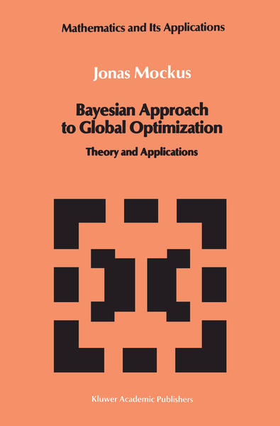 Bayesian Approach to Global Optimization - Coverbild
