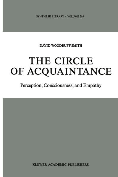 The Circle of Acquaintance - Coverbild