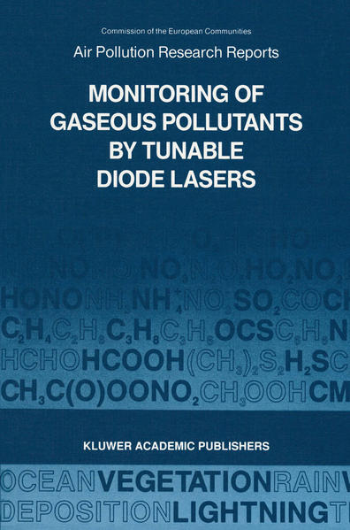 Monitoring of Gaseous Pollutants by Tunable Diode Lasers - Coverbild