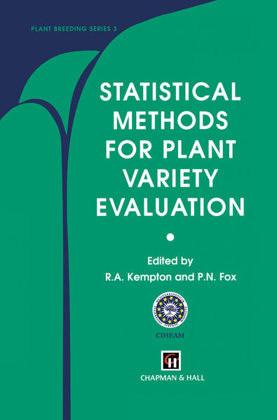 Statistical Methods for Plant Variety Evaluation - Coverbild