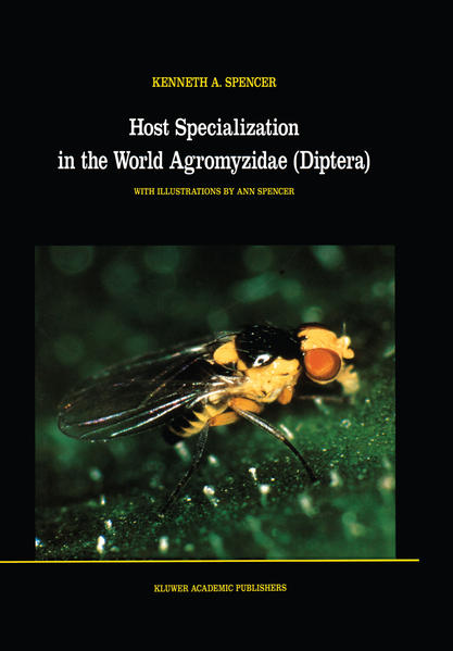 Host Specialization in the World Agromyzidae (Diptera) - Coverbild