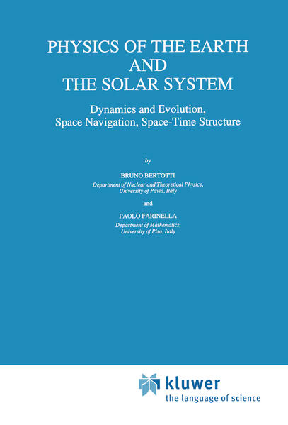 Physics of the Earth and the Solar System - Coverbild