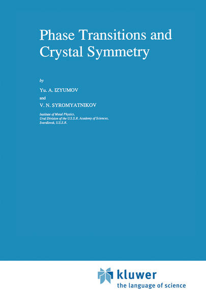 Phase Transitions and Crystal Symmetry - Coverbild