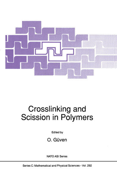 Crosslinking and Scission in Polymers - Coverbild