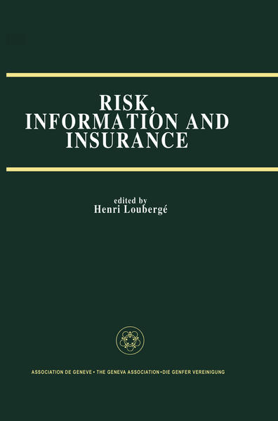 Risk, Information and Insurance - Coverbild