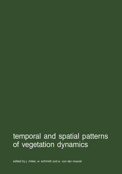 Temporal and spatial patterns of vegetation dynamics - Coverbild