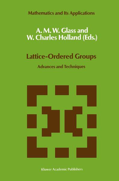 Lattice-Ordered Groups - Coverbild