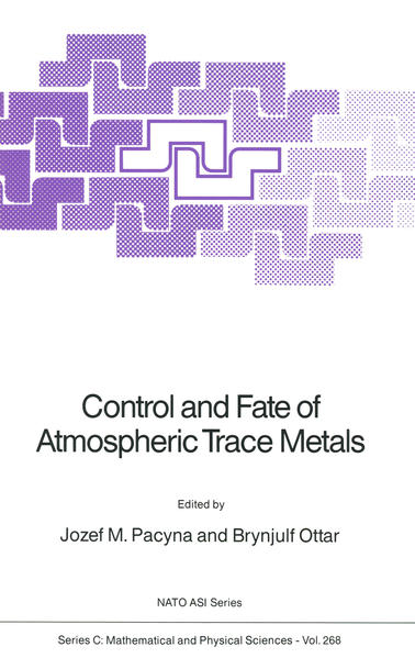 Control and Fate of Atmospheric Trace Metals - Coverbild