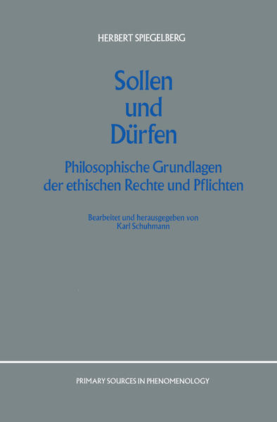 Sollen und Dürfen - Coverbild