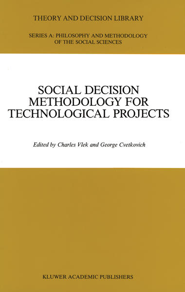 Social Decision Methodology for Technological Projects - Coverbild