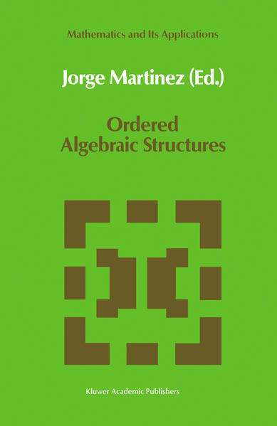 Ordered Algebraic Structures - Coverbild