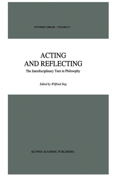 Acting and Reflecting - Coverbild
