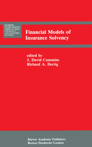 Financial Models of Insurance Solvency - Coverbild