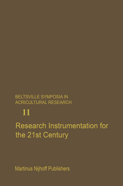 Research Instrumentation for the 21st Century - Coverbild