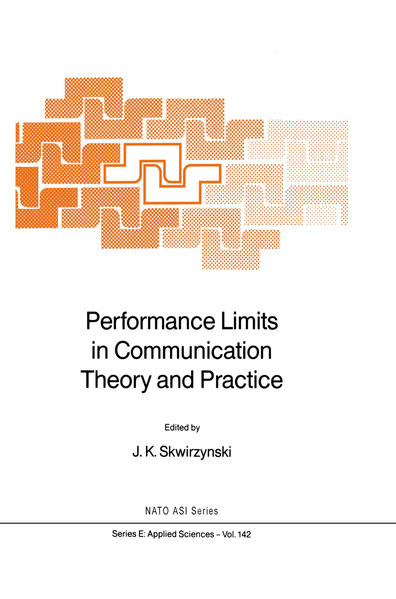 Performance Limits in Communication Theory and Practice - Coverbild