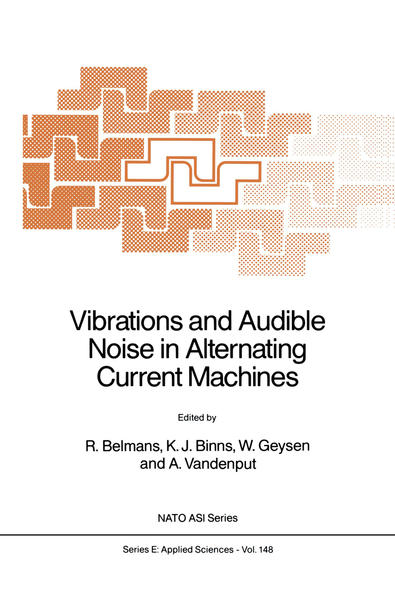 Vibrations and Audible Noise in Alternating Current Machines - Coverbild