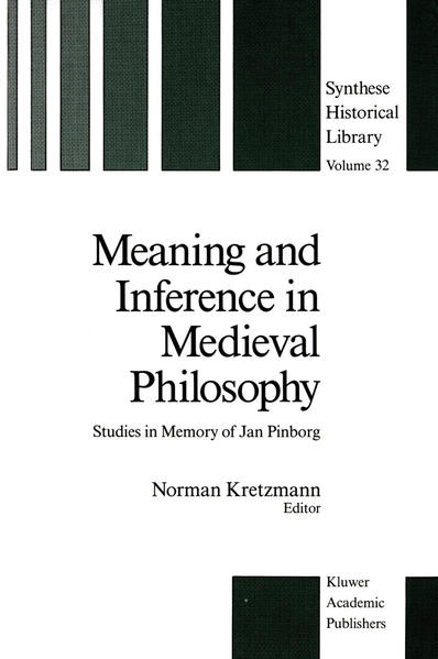 Meaning and Inference in Medieval Philosophy - Coverbild