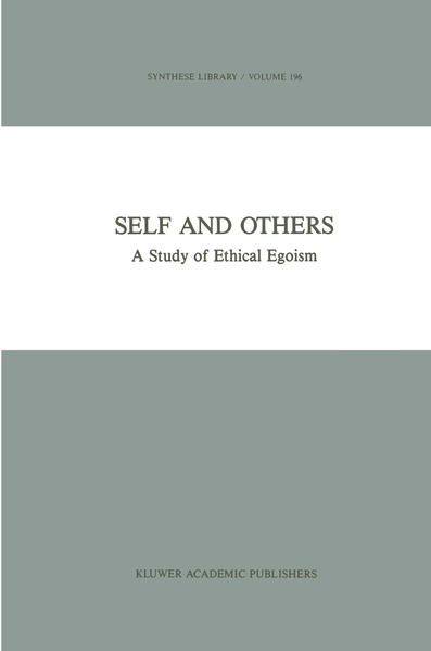 Self and Others - Coverbild