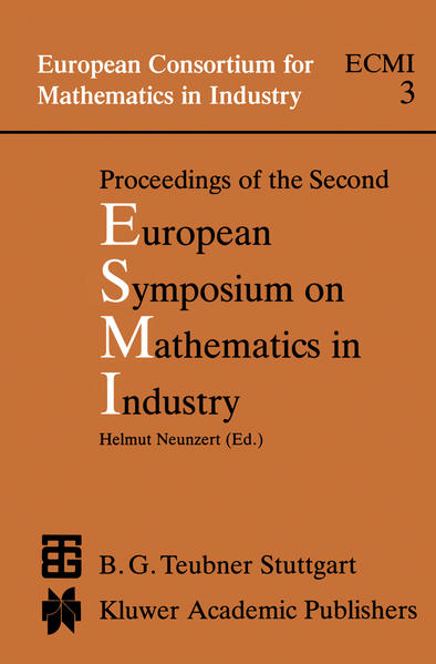 Proceedings of the Second European Symposium on Mathematics in Industry - Coverbild