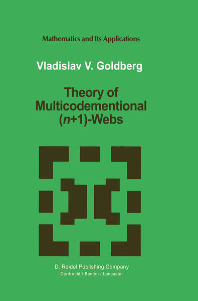 Theory of Multicodimensional (n+1)-Webs - Coverbild