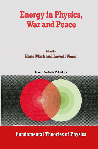 Energy in Physics, War and Peace - Coverbild