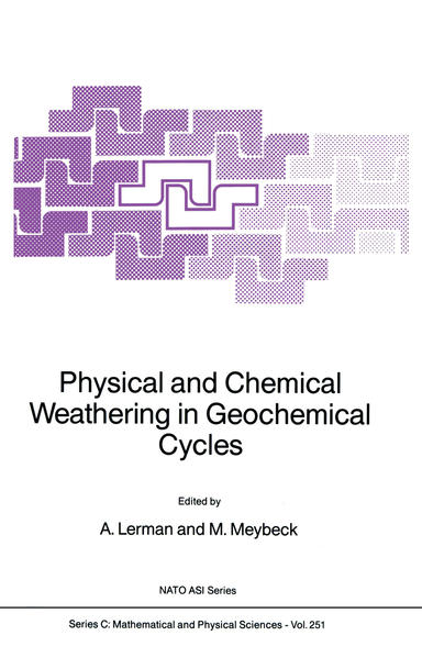 Physical and Chemical Weathering in Geochemical Cycles - Coverbild