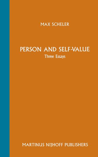 Person and Self-Value - Coverbild