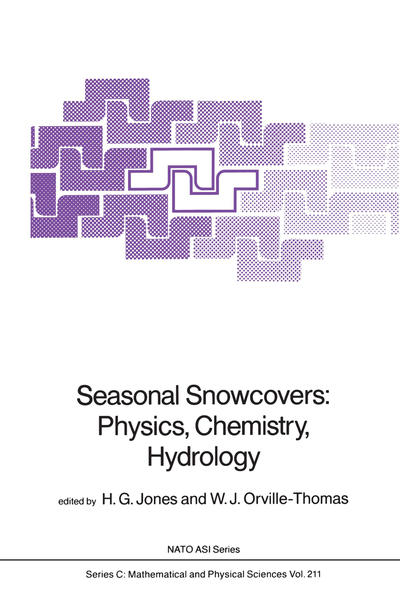 Seasonal Snowcovers: Physics, Chemistry, Hydrology - Coverbild