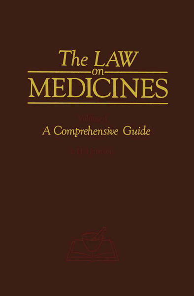 The Law on Medicines - Coverbild
