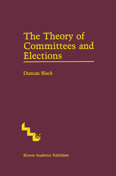 The Theory of Committees and Elections - Coverbild