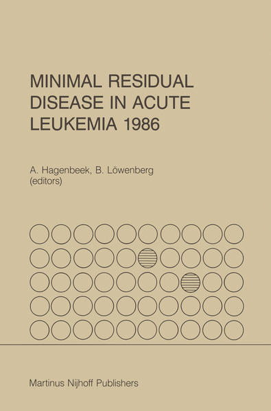 Minimal Residual Disease in Acute Leukemia 1986 - Coverbild