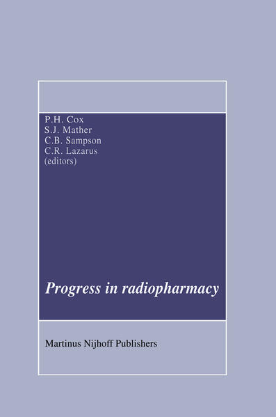 Progress in Radiopharmacy - Coverbild