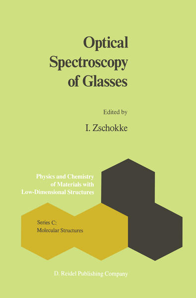 Optical Spectroscopy of Glasses - Coverbild