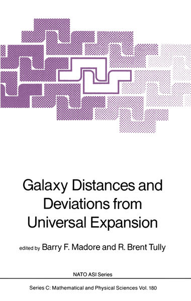 Galaxy Distances and Deviations from Universal Expansion - Coverbild