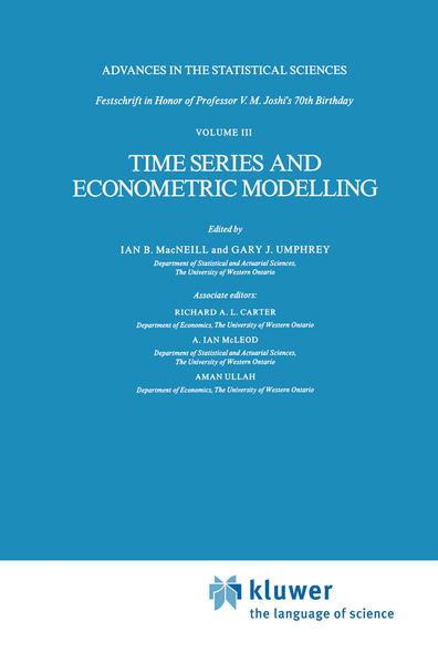 Time Series and Econometric Modelling - Coverbild