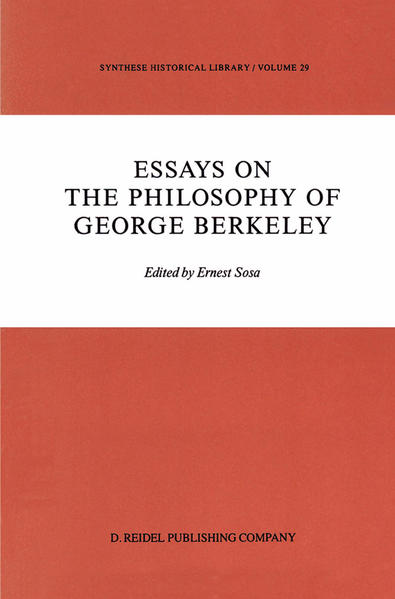 Ebooks Essays on the Philosophy of George Berkeley PDF Herunterladen