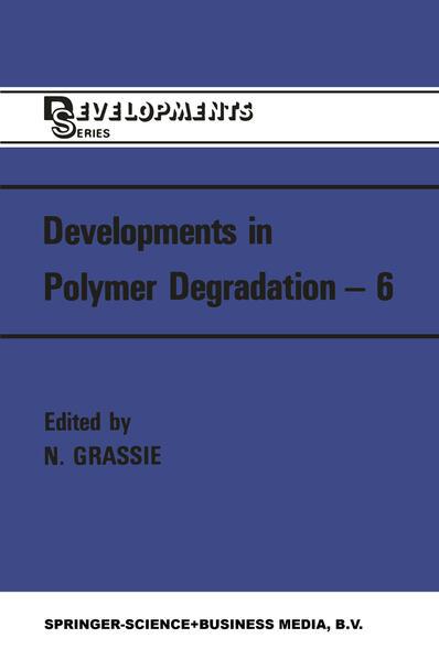 Developments in Polymer Degradation—6 - Coverbild