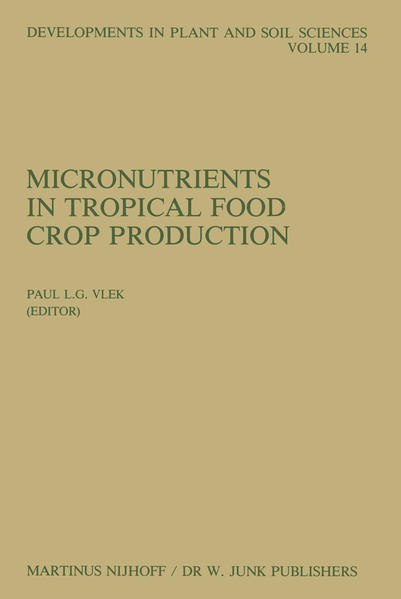 Micronutrients in Tropical Food Crop Production - Coverbild