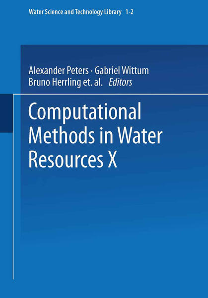Computational Methods in Water Resources X - Coverbild
