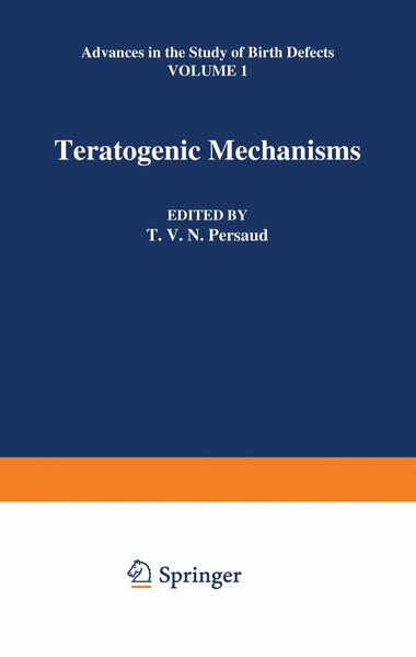 Teratogenic Mechanisms - Coverbild